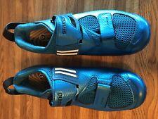 Shimano Men's SH-TR9 Road Cycling/Triathlon Shoe Size 12.5 US, 45 EU Blue
