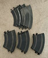 Scalextric Classic Track 18 x Curved P51/C151; 3 x Banked Curves C187