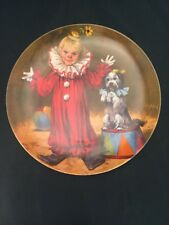 Tommy The Clown Plate Knowles John Mc Clelland Boxed Certificate Children Circus