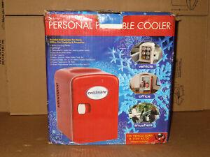 COLDMATE Mini Portable Compact Personal Fridge Cools & Heats 4 Liter Capacity