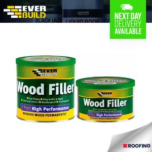 Wood Filler 2 Part 500g /1.4kg Interior Exterior Weatherproof Fast Dry Durable