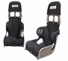 "Ultra Shield Junior Double Rib Race Bucket Seat + Black Cover 20 Degree Size 11"""