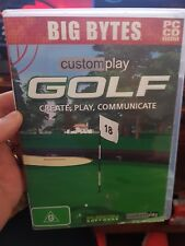 Custom Play Golf  - PC GAME - FREE POST *