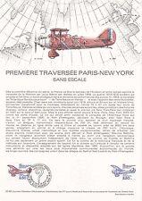 Document Philatélique Timbre  1er Jour : 30/08/ 1980 - Traversée Paris-New York