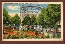 1940's*Pennsville Nj*Riverview Beach*Flower Gardens*Roller Coaster*