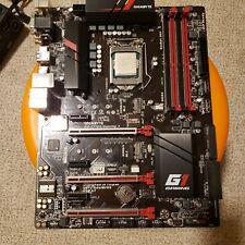 Gigabyte Z170X Gaming 3 LGA1151 Mobo + Intel i7-6700K Cpu combo