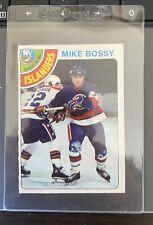 """1978-79 O-PEE-CHEE #115 MIKE BOSSY ROOKIE RC NEW YORK ISLANDERS """"MINT"""" HOF"""