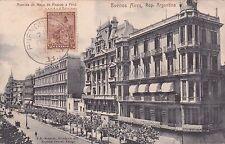 ARGENTINA - Buenos Aires - Avenida de Mayo de Piedras a Peru 1904