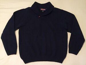 Vineyard Vines Navy Shawl Collar, Heavy Duty Sweater -Size XL - NWOT