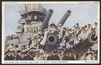 """Royal Navy. """"Britain Prepared"""" Series #16 Officers & Crew of HMS Queen Elizabeth"""