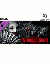 Darkest Dungeon The Crimson Court DLC Steam Key PC new global [Lightning Shipping]