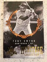 2017 Diamond Kings Heritage Collection #HC-25 Tony Gwynn San Diego Padres