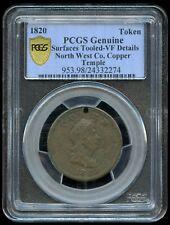 1820 North West Company Token Breton #925 - PCGS VF - Temple Example - Sale