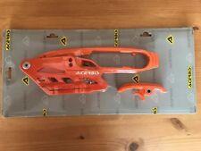 Guía de bloque de cadena Slipper Control Deslizante Set Sirve Para KTM SXF 250 350 450 2011 -2015 Naranja