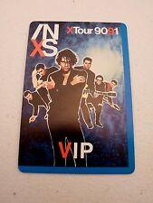Inxs Tour 90 91 Vip Backstage Concert Pass