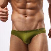 Men's Summer Low Rise Stretch Bikini Swimwear Breathable Underwear Swim Briefs