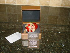 Jay Strongwater 2002 Neiman Marcus Swarovsky Crystals Egg Ornament w/ Box