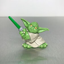 Star Wars Galactic Heroes YODA figure with lightsaber in two hands