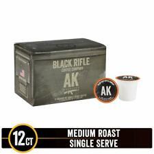 Black Rifle Coffee Company AK-47 Medium Roast Single Serve Coffee Rounds - 12ct