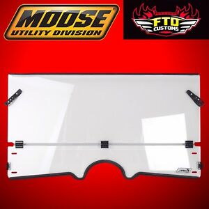 MOOSE Utility Division Full Folding Windshield for All Yamaha Rhino 2317-0192