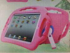 Pink Silicone/Gel/Rubber Tablet & eReader Protective Shells/Skins Folios
