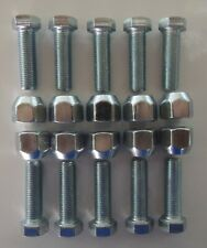 Wheel Horse Lug Bolt to Lug Nut Conversion Kit - May Fit Other Brands As Well