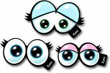 CARTOON occhi n. 1 Set di 3