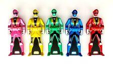 Kaizoku Sentai Gokaiger DX Ranger Key 5 Set Metallic Version RARE Power Rangers