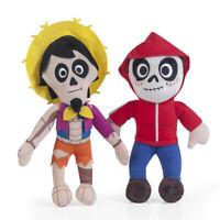 2pcs Coco Hector & Miguel Plush Doll Stuffed Figure Soft Toy Christmas Gift