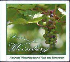 Audio-CD sonidos alrededor de la Weinberg; naturaleza - & vino ruidos, pájaro - & voces animales