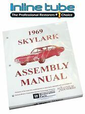 1969 Buick Skylark A-Body Factory Assembly Rebuild Instruction Manual Booklet