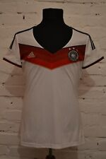 GERMANY 2014/2015 HOME FOOTBALL SOCCER SHIRT JERSEY WOMEN WORLD CUP