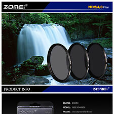 ZOMEI 67mm Neutral Density ND Filter Set ND2 ND4 ND8 for Nikon Canon Hoya Lens