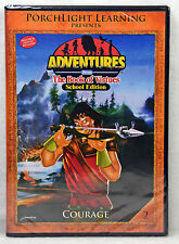 NEW Courage #3 DVD Adventures From the Book of Virtues Includes Teacher's Guide