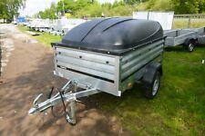 PKW Kastenanhänger mit Deckel 1205SXLUB750 Brenderup Kippi 750 KG 100 KM/H