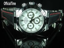 OfficialTime AK End Link & 20/16mm Vintage Bull Leather Strap fits Rolex Daytona