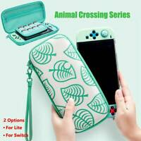 Animal Crossing Carrying Case Bag For Nintendo Switch / Switch Lite Storage Bag