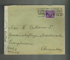1942 Netherlands to Eberswalde Germany Ravensbruck Concentration Sub Camp Cover