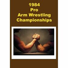 1984 Pro Arm Wrestling Championship On DVD Sports Brand New E78
