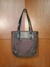 CALVIN KLEIN Black/Brown CROSSBODY Designer Handbag Used