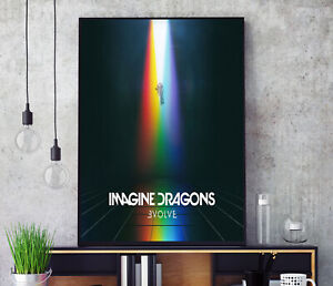 Evolve (by Imagine Dragons) Album Cover Poster Professional Grade Print HD A3 A4