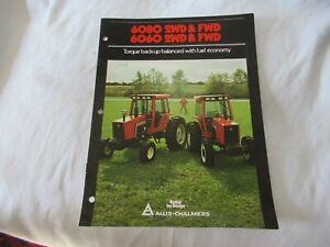 Allis-Chalmers 6080 6060 tractor brochure