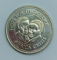 1985 World Vision Canada Hope for the Future Africa Crisis Token Medal
