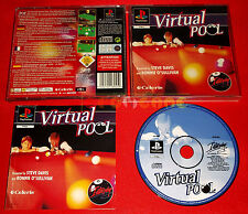 VIRTUAL POOL Ps1 Versione Europea 1ª Edizione ○ COMPLETO - EQ