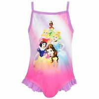Disney Princess Swimsuit | Girls Disney Princess Swimming Costume | NEW