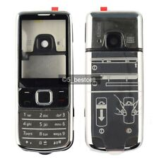 New  Silver Metal Housing Cover Case For Nokia 6700 Classic 6700C + Keypad