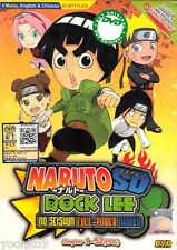 DVD Anime Naruto SD: Rock Lee no Seishun Full-Power Ninden TV 1-52 End Eng Sub