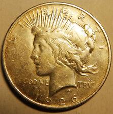 Usa   One Dollar 1926 D Silver coin  90%  Very Nice Coin