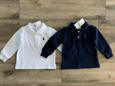 NWT Lot of 2 Boys Ralph Lauren Polo shirts age 6 months