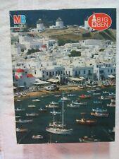 New. Big Ben puzzle. 1000 pcs. Mykonos Island Greece, 1991  Box shows wear